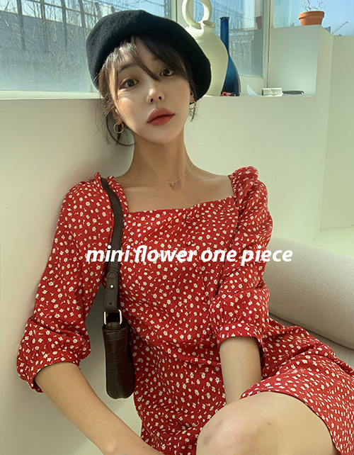 Mini flower one piece (2 colors)