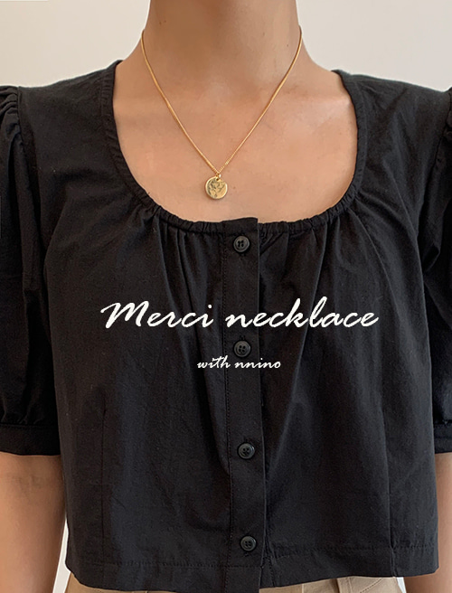 Merci necklace