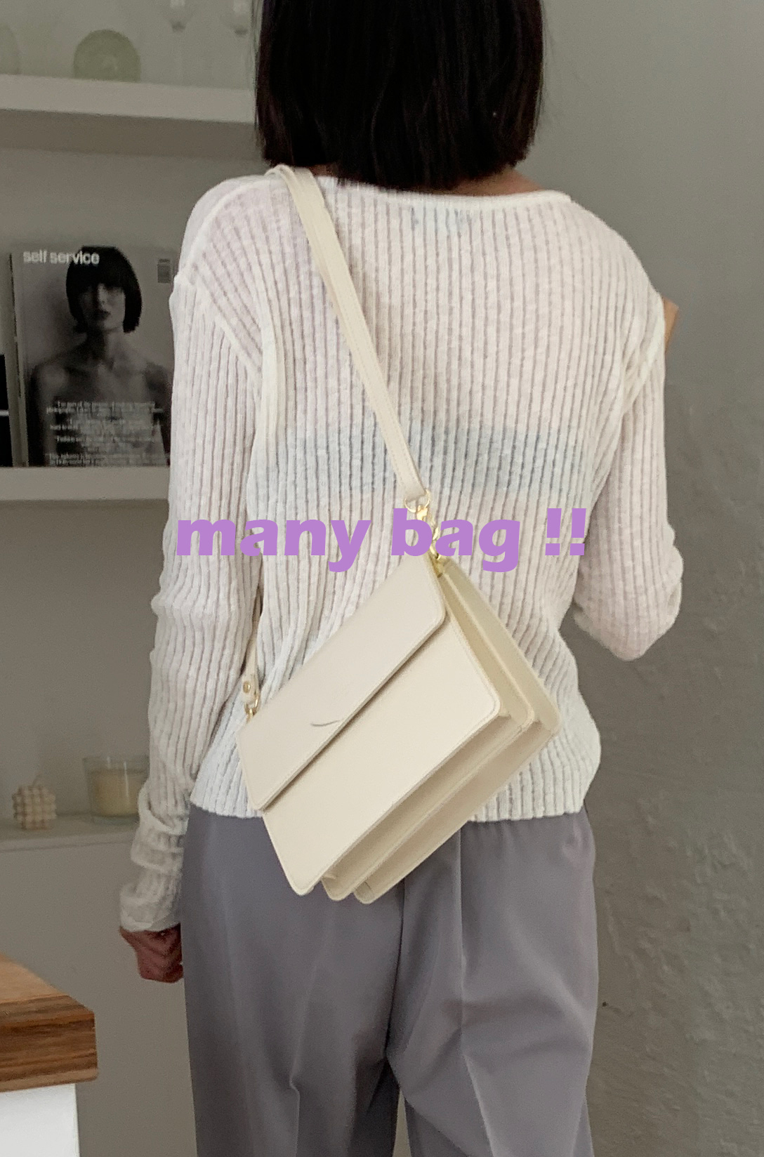 Many bag (2 colors)