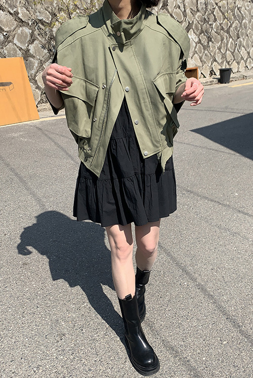 Short field jacket (2 colors)