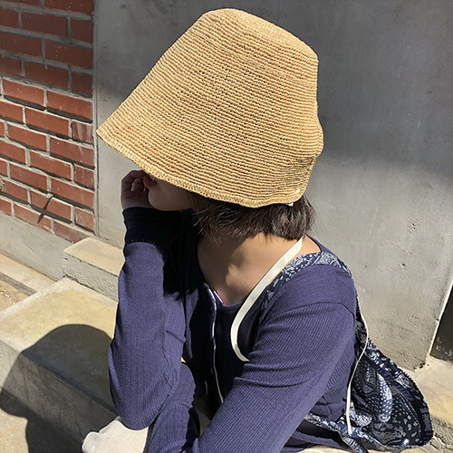summer hat(2 color)