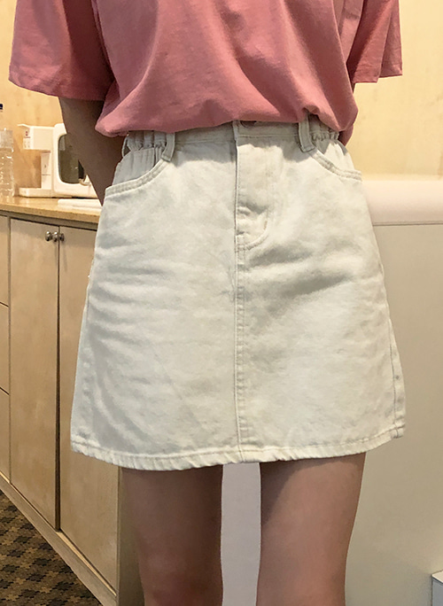 Side banding skirt (2 color)
