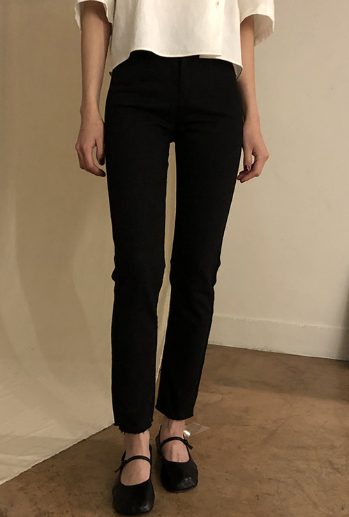 Basic slim pants (2 color)