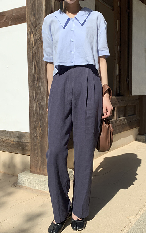 Oui linen slacks (2 color)