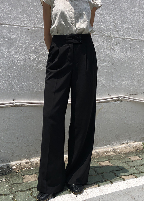 Lune loosefit slacks (2 color)