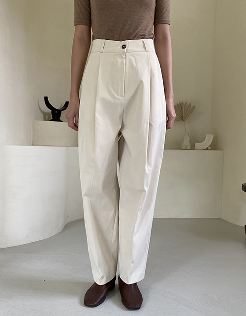 Hej cotton slacks (2 color)
