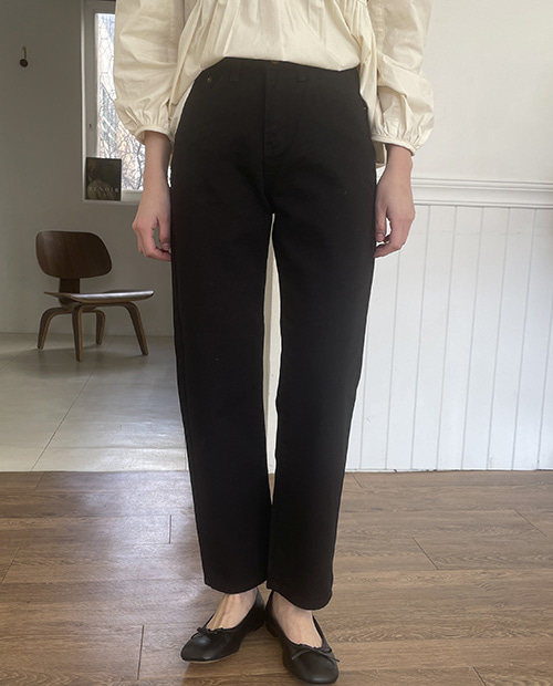 Clip cotton pants ( 2 color )